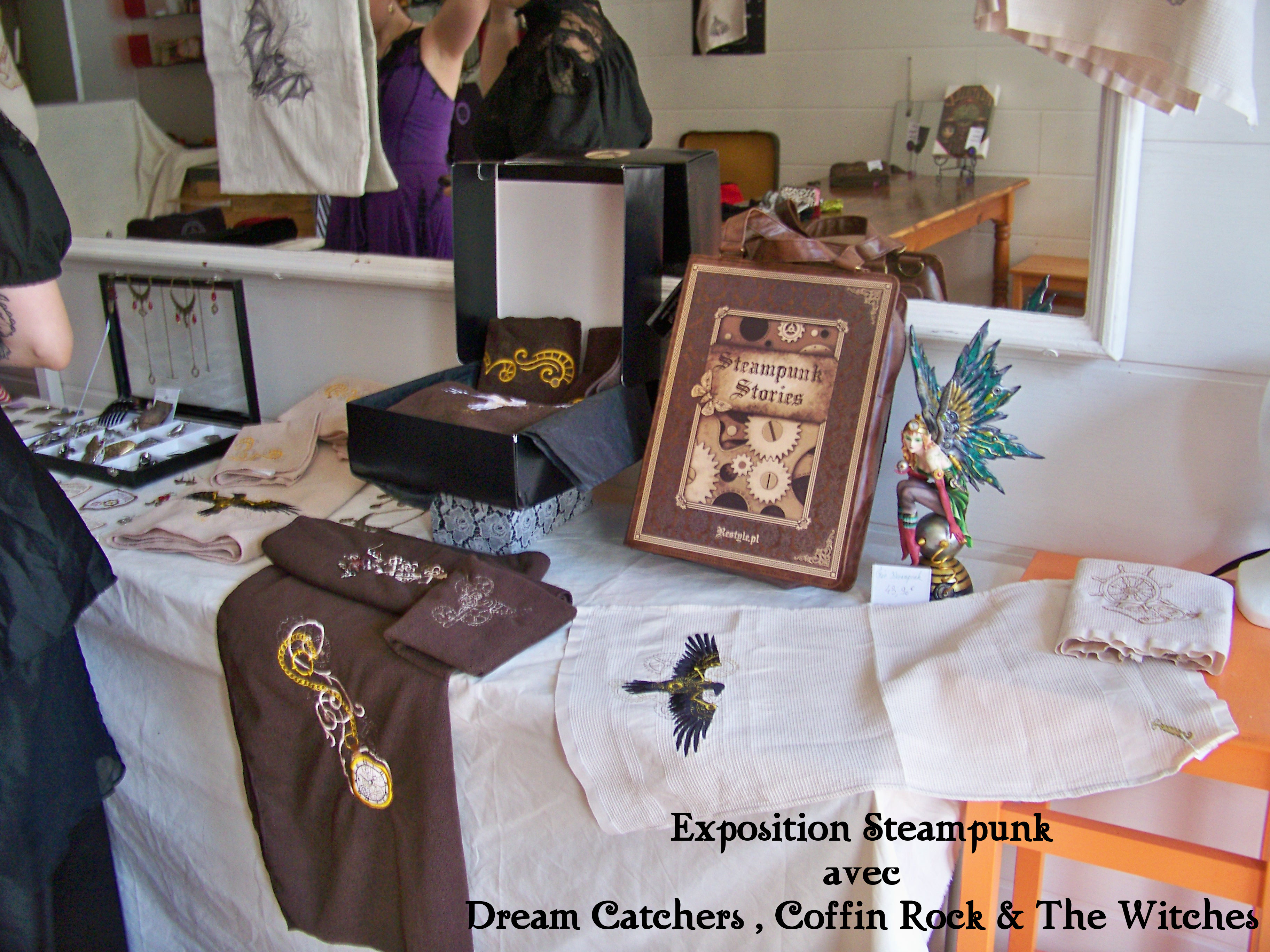 Exposition Steampunk avec Dream Catchers, Coffin Rock et The Witches